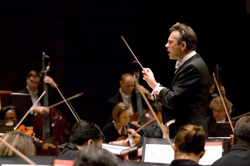 Justin Brown Conducting the Alabama Symphony