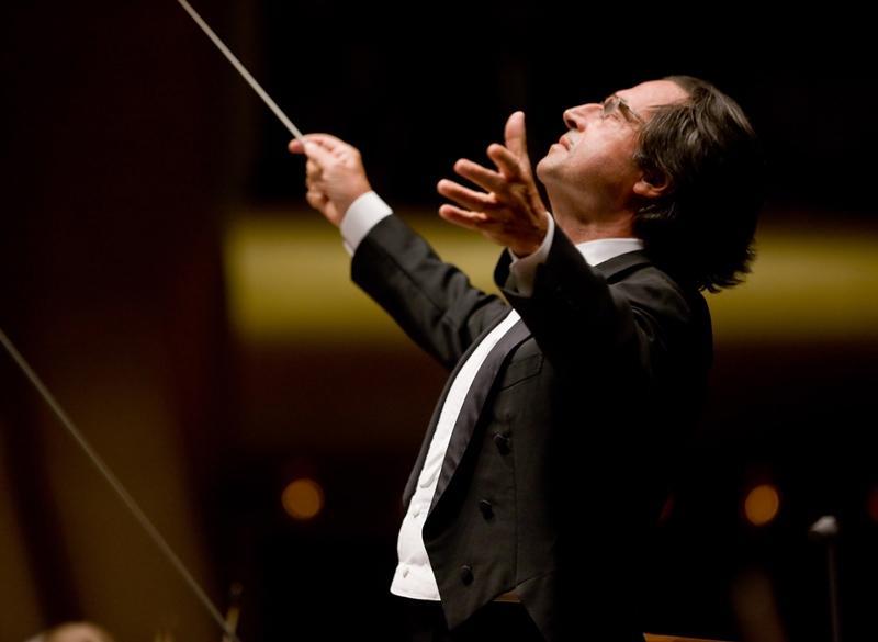 Conductor Riccardo Muti.
