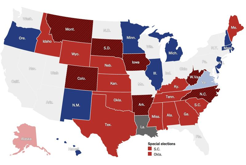 The Economic Divide Between Red And Blue States The Takeaway WNYC - Map of red and blue states