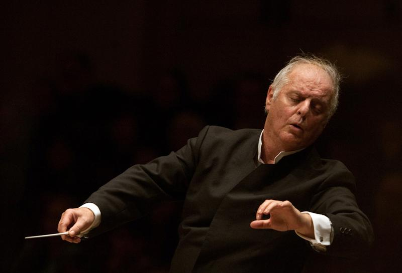 Pianist and conductor Daniel Barenboim.