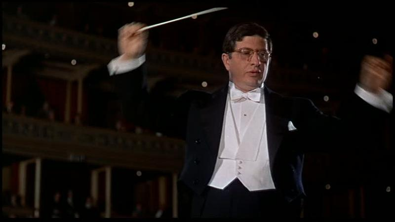 Bernard Herrmann's conducting cameo in Alfred Hitchcock's 'The Man Who Knew Too Much.'