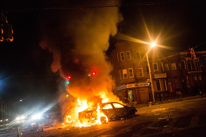 Baltimore Burns as Anger Boils Over | The Takeaway | WNYC Studios