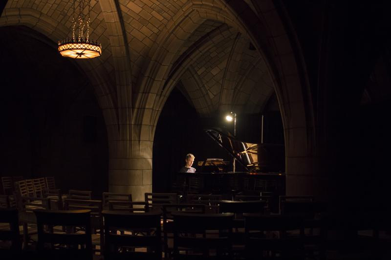 Alexandre Tharaud performs at the Crypt.