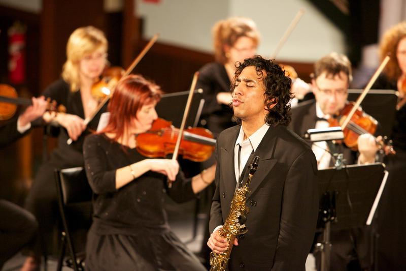 Saxophonist Ashu in concert