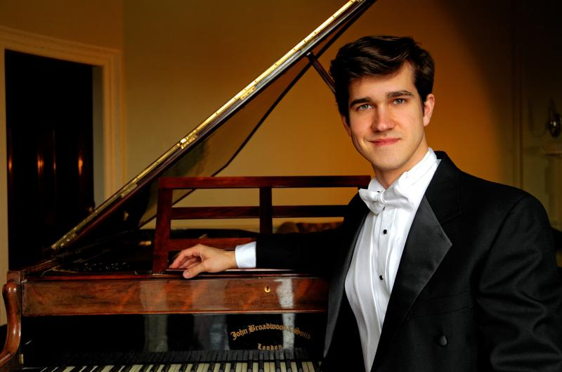 Pianist Cahill Smith.