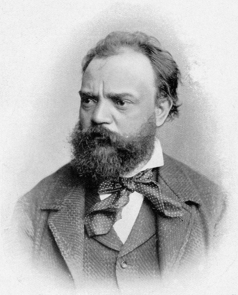 Composer Antonín Dvořák.