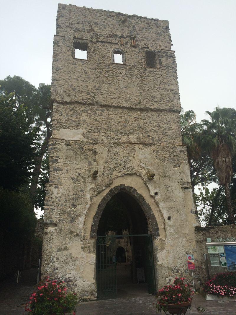 Entrance to Villa Rufolo in Ravello