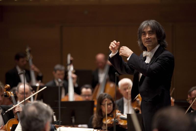 Kent Nagano performs with the Orchestre Symphonique de Montréal.
