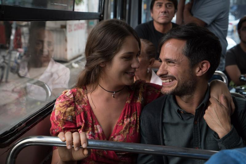 Rodrigo escapes with Hailey from his pre-arranged day of press events on a bus trip through picturesque Mexican countryside.