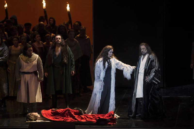 The 2016-2017 season from LA Opera includes Verdi's Macbeth along with several operas from living composers.