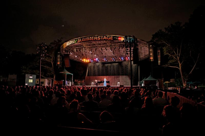 The Metropolitan Opera Summer Recital Series at Central Park SummerStage.