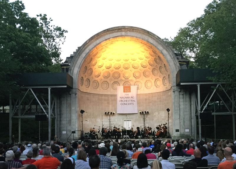 Ensemble LPR play at the Naumburg Bandshell.