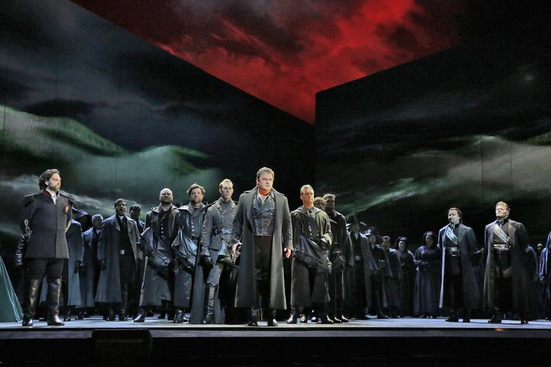 Bartlett Sher's production of 'Otello' at the Metropolitan Opera.