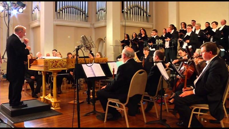 Philharmonia Baroque Orchestra performing at First Congregational Church in Berkeley, California.