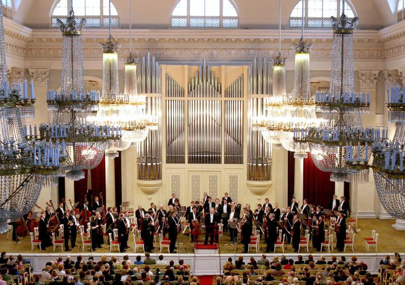 The St. Petersburg Philharmonic.
