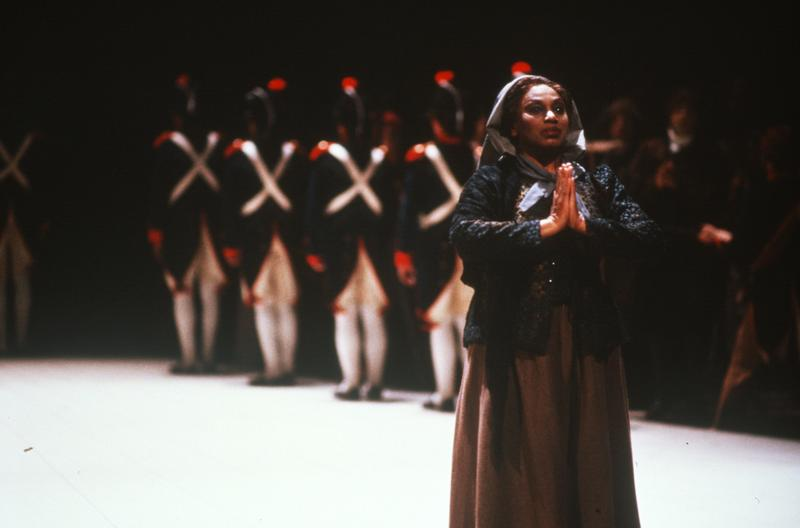 Leontyne Price as Madame Lidoine in Dialogues of the Carmelites