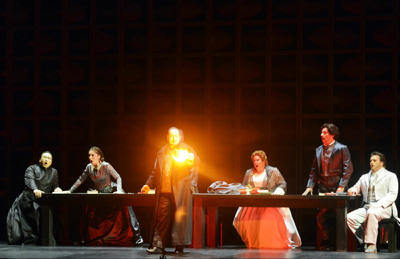 'Stiffelio' is presented at Teatro La Fenice in Venice.
