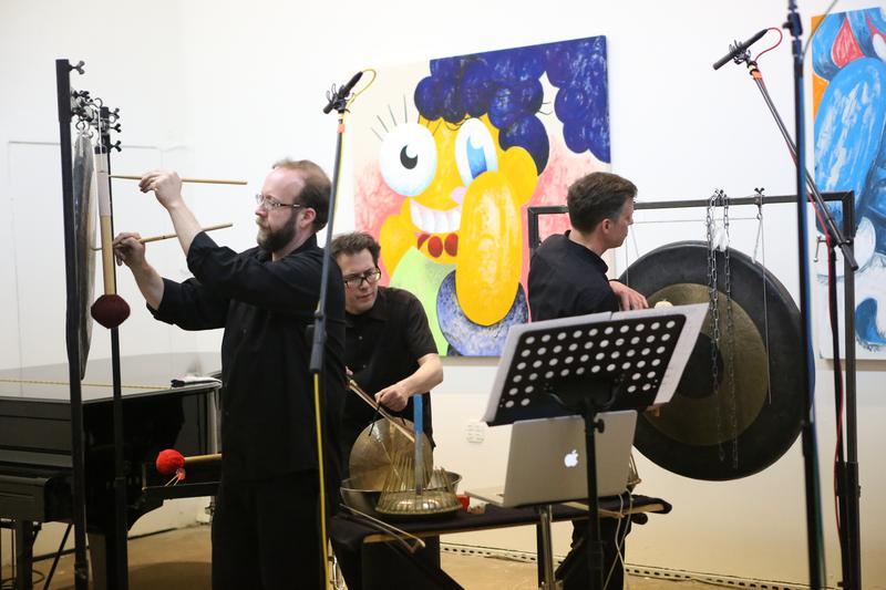 Talujon performs live at the 2015 Look & Listen Festival