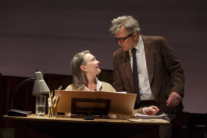 Dear Elizabeth featuring David Aaron Baker as Robert Lowell and Cherry Jones as Elizabeth Bishop