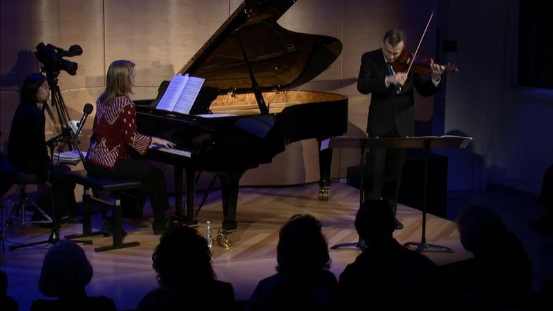 Gil and Orli Shaham live in the Greenespace