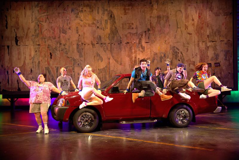 The musical 'Hands on a Hardbody' at Broadway's Brooks  Atkinson Theatre.