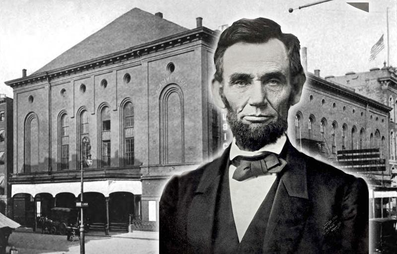 Abraham Lincoln attended the US premiere run of Verdi's 'Un Ballo in Maschera' at the Academy of Music in New York.
