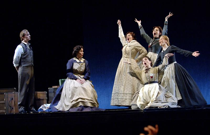 New York City Opera's production of 'Little Women' in a dress rehearsal, May 18, 2005 in Tokyo, Japan.