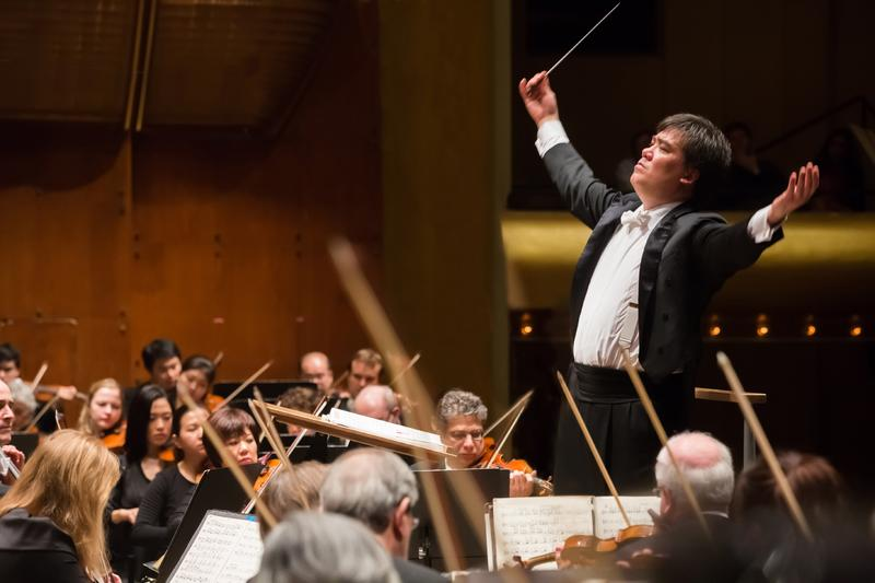 Alan Gilbert and the New York Philharmonic.