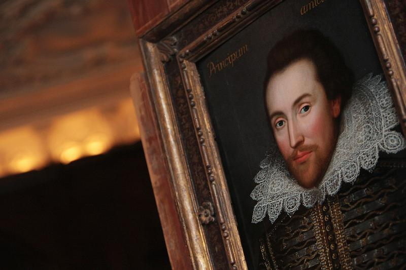 This portrait, painted in 1610, is believed to be the only surviving picture of William Shakespeare painted in his lifetime.