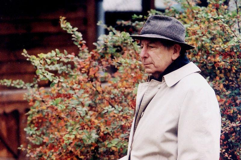 Roman Totenberg in Zakopane, Poland, Oct 2000