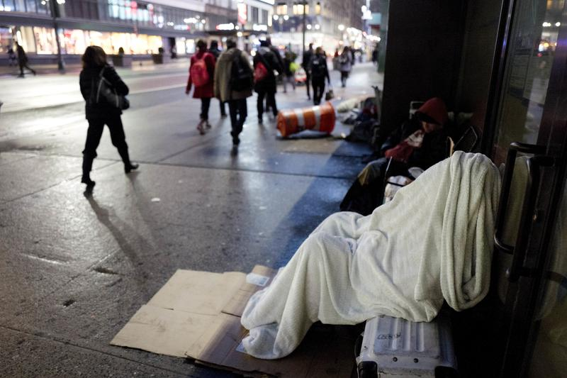 Nyc Weather Zing Temps Prompt Code Blue Alert For Homeless