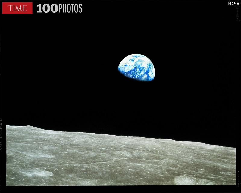 """Earthrise"" 1968, by William Anders/NASA"