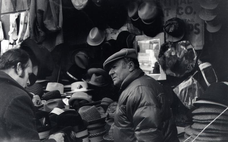 A haggle over a hat in 1970s NYC