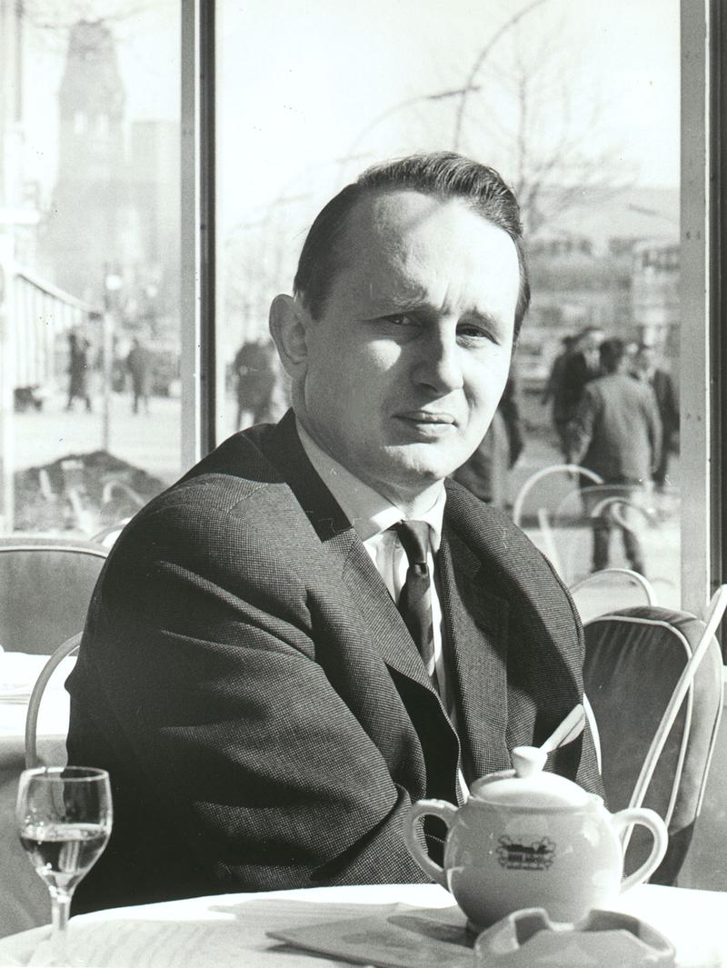 Playwright Rolf Hochhuth, February 20, 1963.