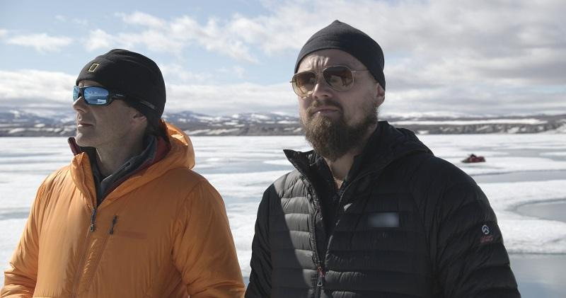 In the Arctic- Leonardo Interview with Enric Sala about meltwater. For two years, Leonardo DiCaprio has criss-crossed the planet in his role as UN messenger of Peace on Climate Change.