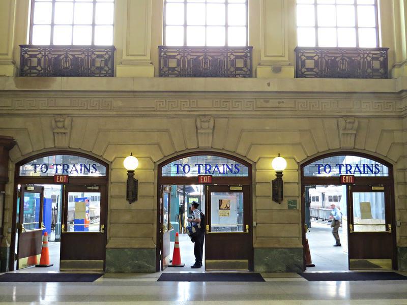 Hoboken Train Terminal