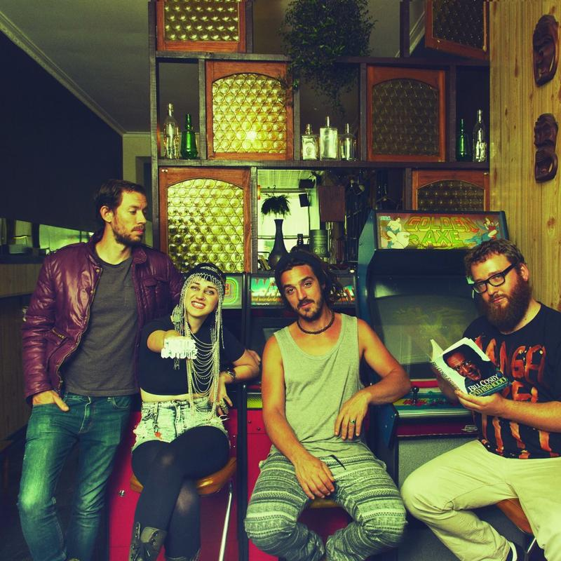 Hiatus Kaiyote's latest record is called 'Choose Your Weapon.'