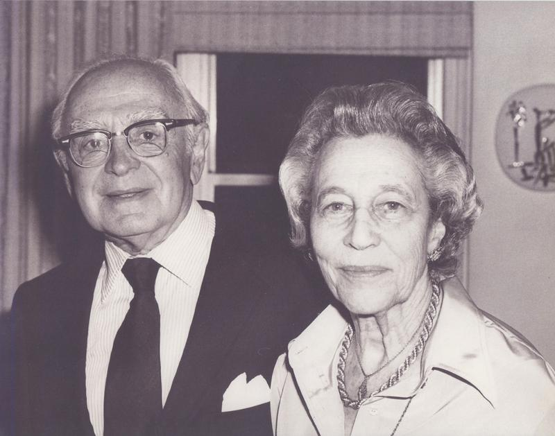 Elliott and Eleanor Sanger, December 25, 1979.