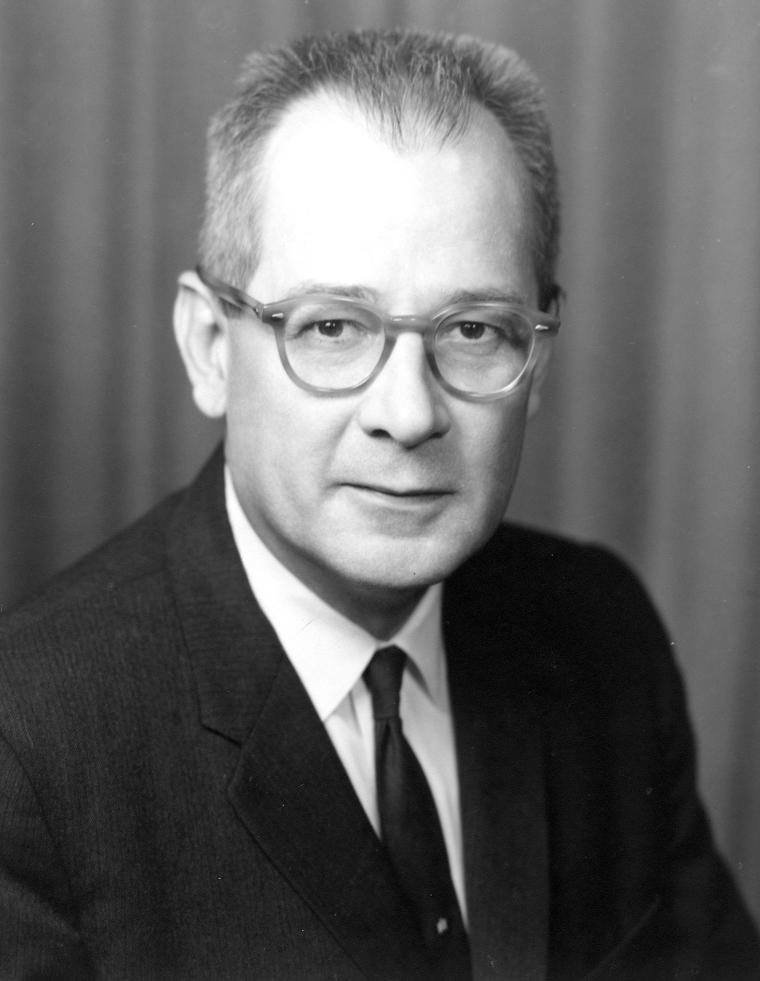 U.S. Secretary of Labor, W. Willard Wirtz.