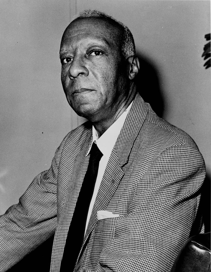 Labor and civil rights leader A. Philip Randolph in 1963.