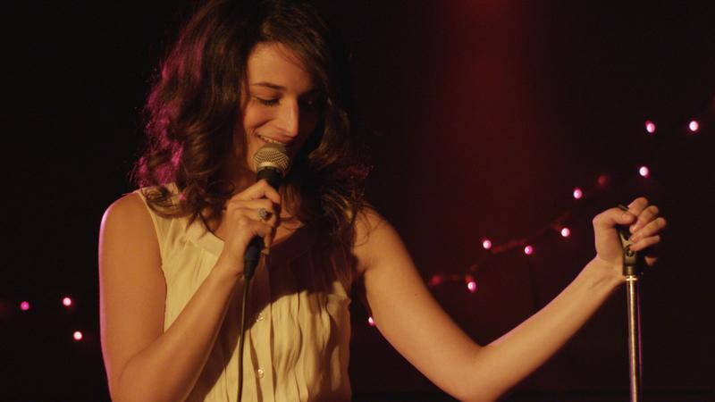 "Actress Jenny Slate in the new film, ""Obvious Child."""