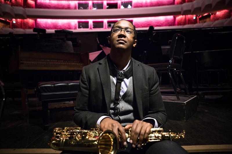 Saxophonist Steven Banks.