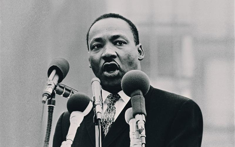 Dr. Martin Luther King, Jr. was an artistic inspiration to many creators