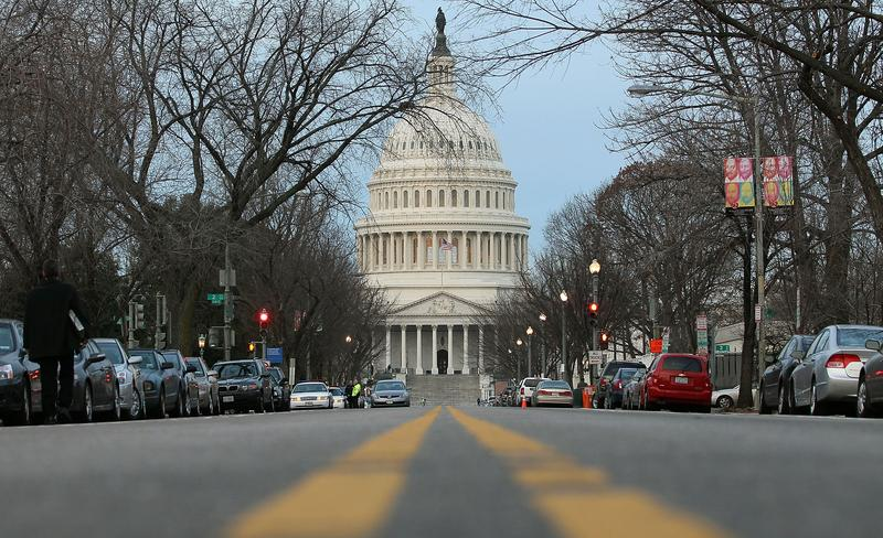 The U.S. Capitol building is seen on the morning of January 4, 2011 in Washington, DC.