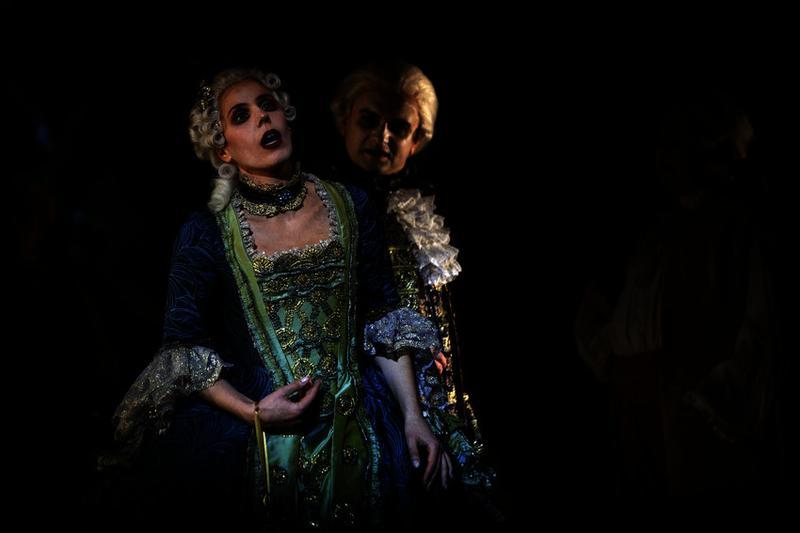 'Manon' performed by the Malmo Opera starring soprano Georgia Jarman as Manon and tenor Joachim Bäckström as Des Grieux.