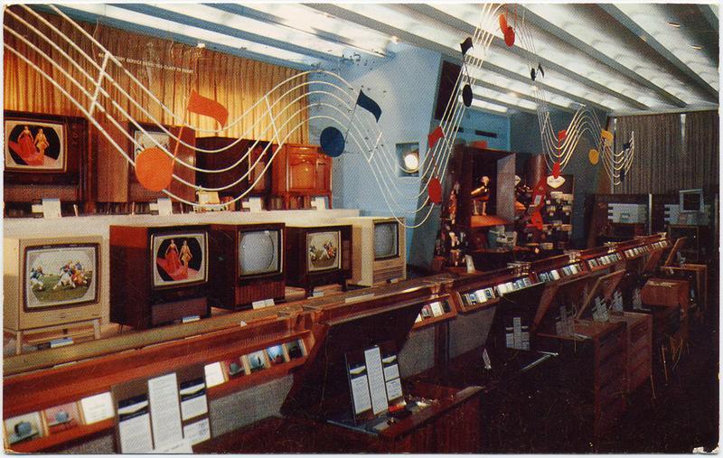 RCA Exhibition Hall, 1958