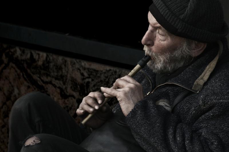 I play flute, you enjoy your life