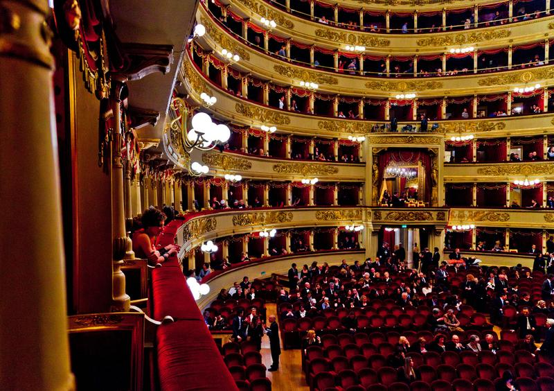 La Scala Theater in Milan, Italy