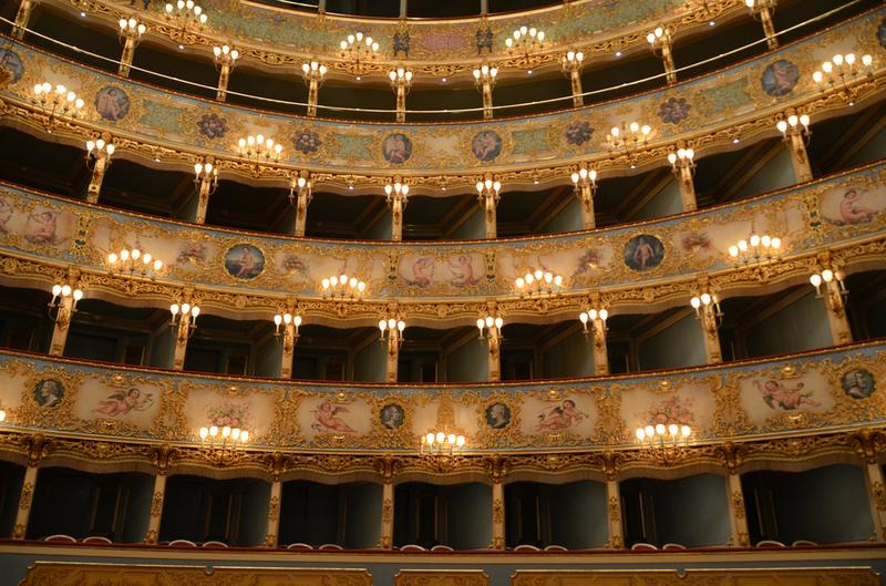 La Fenice Theater in Venice, Italy