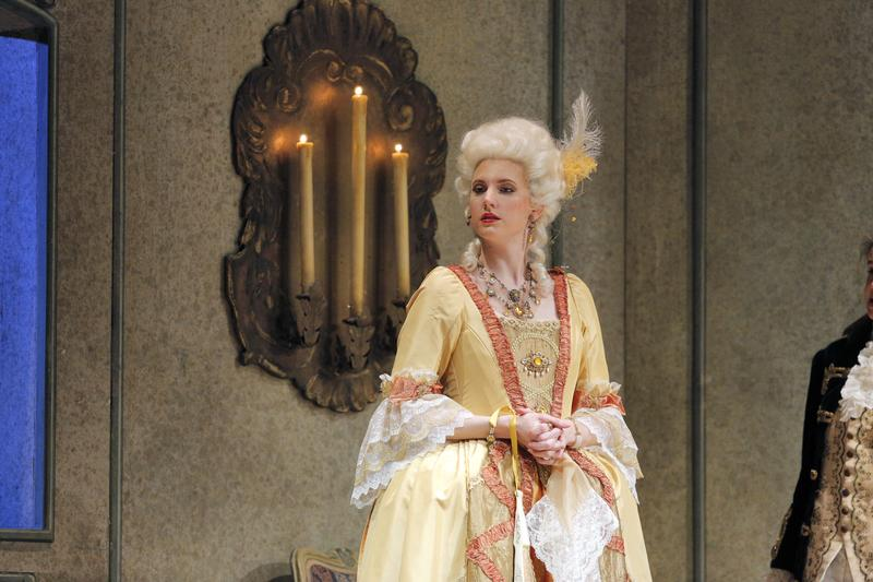 Amanda Majeski stars as the Marschallin in the Lyric's 'Der Rosenkavalier.'